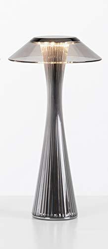 Kartell Lampada Led da Tavolo Space 9220TT, Colore Titanio
