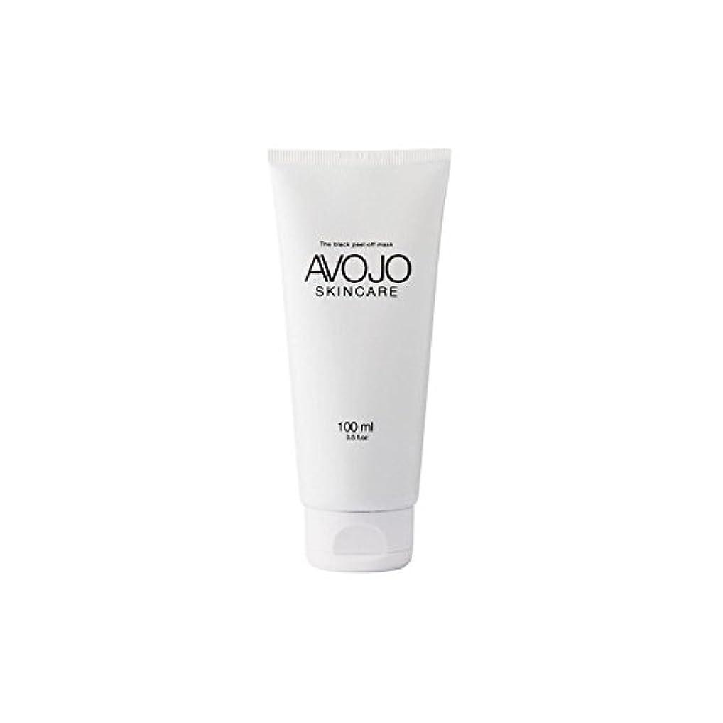 国歌禁じる溶かす- 黒皮オフマスク - (ボトル100ミリリットル) x4 - Avojo - The Black Peel Off Mask - (Bottle 100ml) (Pack of 4) [並行輸入品]