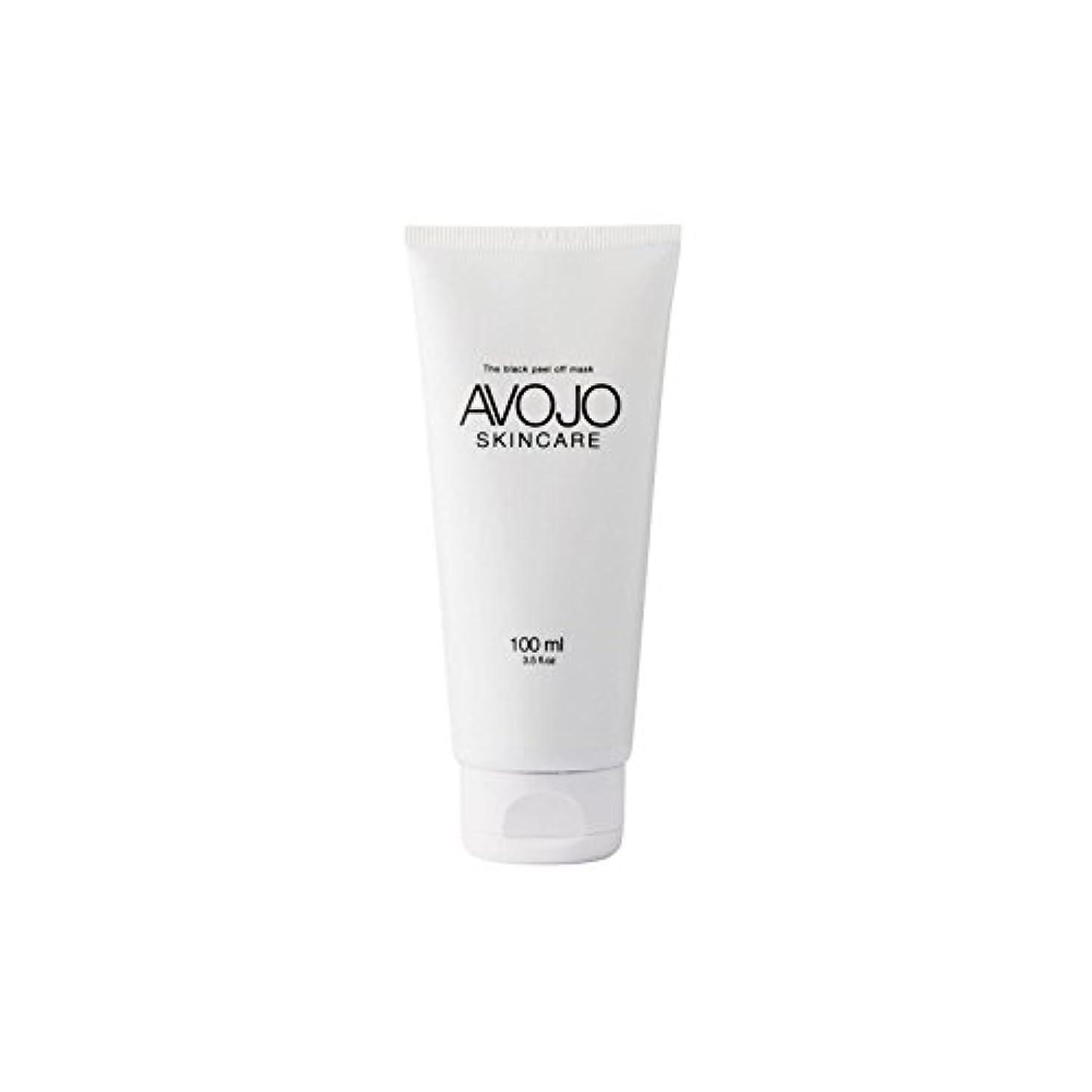 残る地殻差別化するAvojo - The Black Peel Off Mask - (Bottle 100ml) - - 黒皮オフマスク - (ボトル100ミリリットル) [並行輸入品]