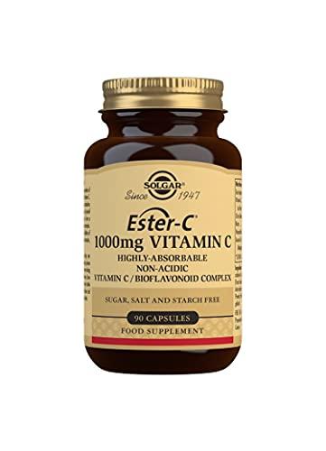 Solgar Ester-C 1000 Mg Vitamin C Capsules, Pack of 90