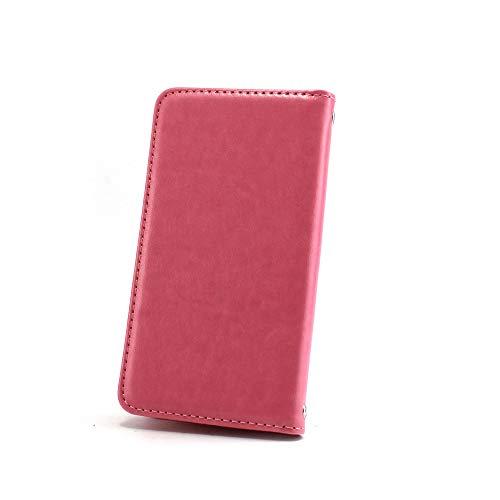 ホワイトナッツ iPhone6s ケース 手帳型 【左利き】 ベルトなし スタイリッシュ ピンク スマホケース アイフォンシックスエス 手帳 カバー スマホカバー WN-OD495910_ML