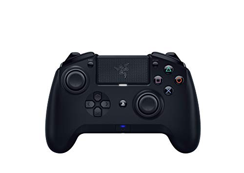 Razer Raiju Tournament Edition (2019) - Wireless and Wired Gaming Controller für PS4 + PC (Kabelgeb&ener & Kabelloser Bluetooth Controller, Aktionstasten, Austauschbare Sticks, Mobile App) Schwarz