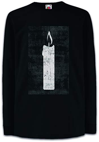 Urban Backwoods Tarot The White Candle Kinder Kids T-Shirt Met Lange Mouwen