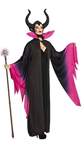 Boland Disfraz de adulto de Mala Magia, color negro/rosa, 36/38 (79172)