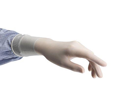 TouchNTuff 73500090–01, gants, en néoprène, liquide chimique et protection, Taille 9, crème (Pack de 200)
