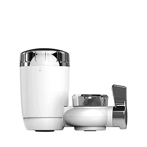 AVEDISTANTE Filtros de agua del Grifo, Purificador de agua del Grifo, Sistema de filtración de agua del grifo para la cocina y el baño, con 8 adaptadores de Grifos, Compatibles con 99% s Grifos