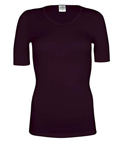 wobera Angora Damen Halbarmunterhemd mit 70% Schurwolle und 30% Seide
