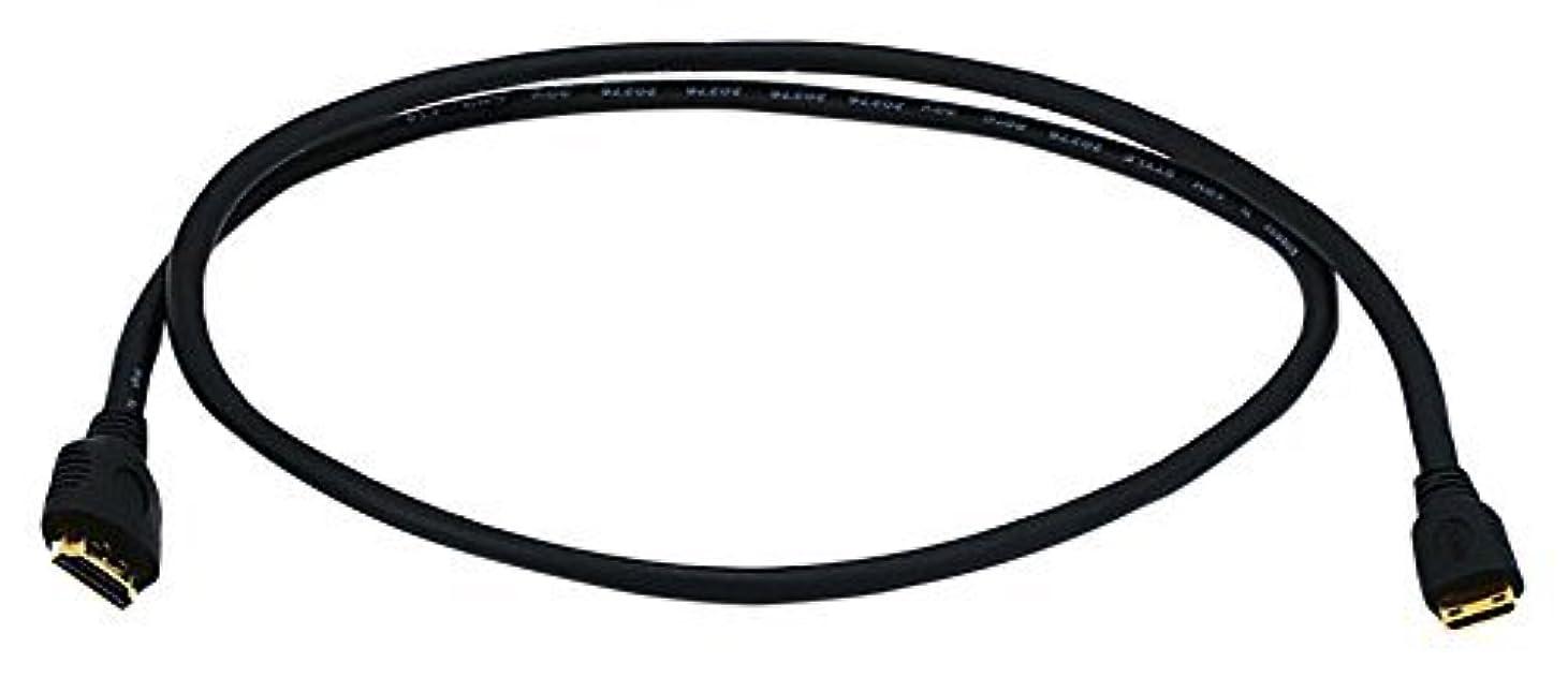 故意に無関心与えるC&E 5 Pack HDMI Connector to HDMI Mini Connector 30AWG - Black, 6 Feet CNE578507 [並行輸入品]