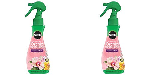 Scotts 100195 Miracle-GRO Plant Food Mist (Orchid Fertilizer), 8 oz. (2 Pack)