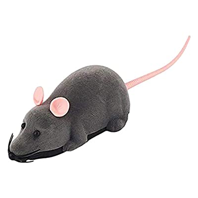? Dergo ?Rat dolls ,Fun Electric Wireless Remote Control Plush Mouse Rat Toy Fool's Day Gift for Kid