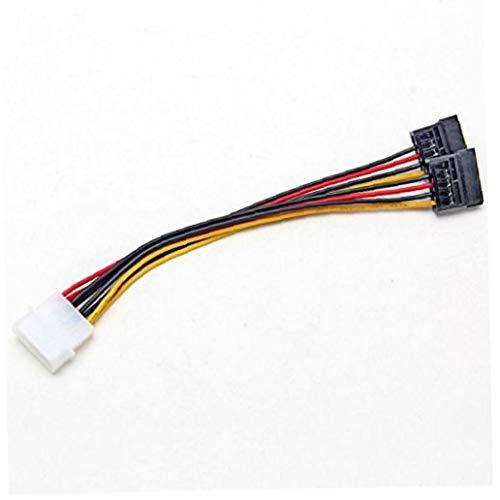 Romote 1Pc Nueva 4 Pin IDE Molex 2 a Serial ATA de Disco Duro SATA Drive Cable Adaptador de Corriente