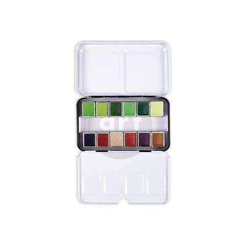 Prima Confections Watercolor Pans Set Of 12 - Currents