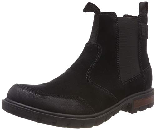 Cat Footwear Herren Economist Chelsea Boots, schwarz (Black 0), 46 EU