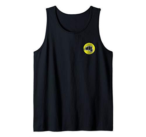 The Karate Kid Cobra Kai Yellow Fist Tank Top