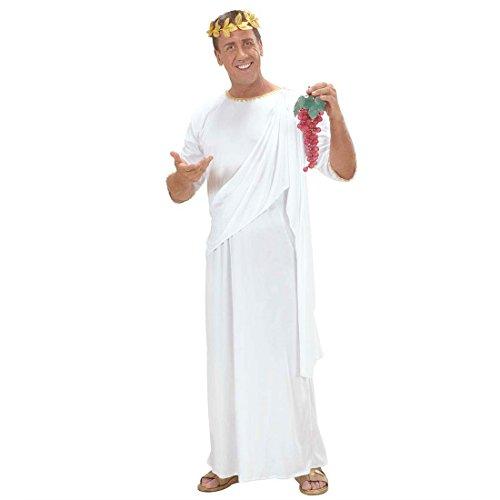 Romano Toga Disfraz Rmer Grecia Blanco XL Unisex gewand Disfraz Toga Grecia Antigua griechin Rmerin