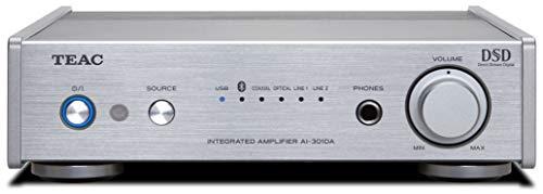 Teac AI-301DA-X Stereo Vollverstärker (60 Watt je Kanal, USB DAC, Bluetooth), Silber