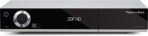 TechniSat Digit ISIO S Edition - HDTV-DigitalSat-Receiver mit Twin-Tuner und Internetfunktionalität (DVR, HD+, 2x CI+, 3x USB uvm.) silber