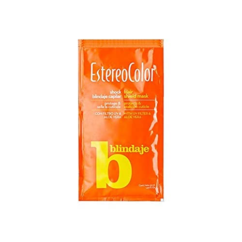 Estereocolor Shock Blindaje capilar con Filtro UV. Cuida e hidrata el pelo. Con extracto de AloeVera 500 ml