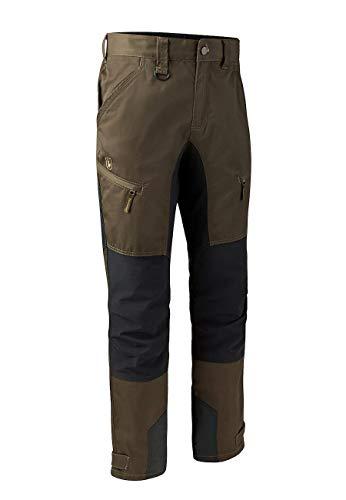 Deerhunter Herren Rogaland Stretch Hose mit Kontrast 3771, Farbe:Fallen Leaf, Größe:52