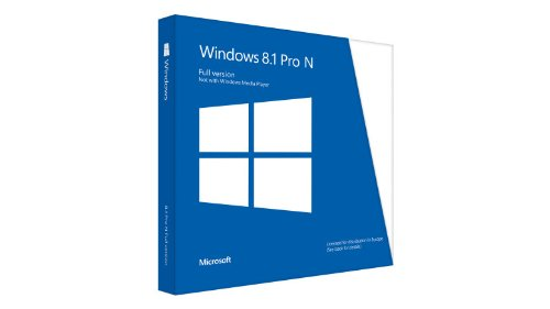Microsoft Win Pro N 8.1 32/64 bit