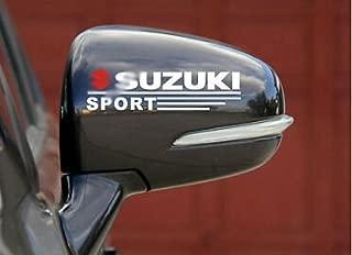 Indiashopers Suzuki Sport Windows, Sides, Hood, Bumper Car Sticker
