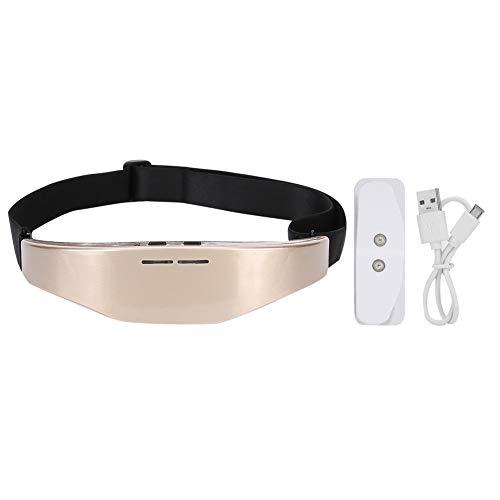 Borlai Herramienta de Ayuda para Dormir con Alivio de La Migraña para Masajeador de Cabeza con Instrumento de Sueño Eléctrico de Carga USB