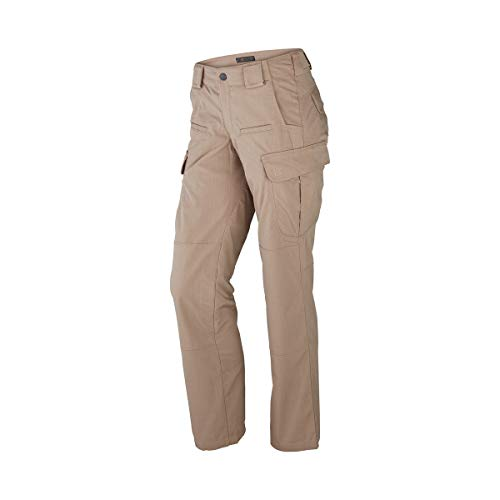 5.11 TACTICAL Stryke Pantalon Femme, Kaki, FR : 4 (Taille Fabricant : 4 Regular)
