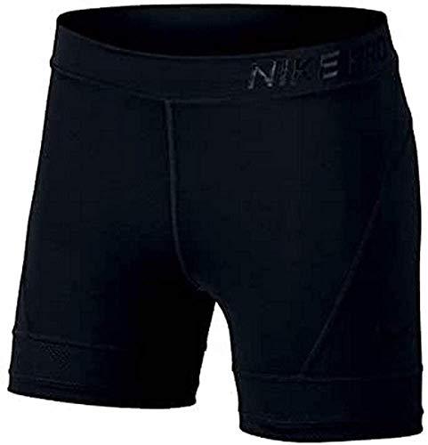 Nike Damen Short Pro Hypercool 5In, Black/(Clear), M, 889664-010