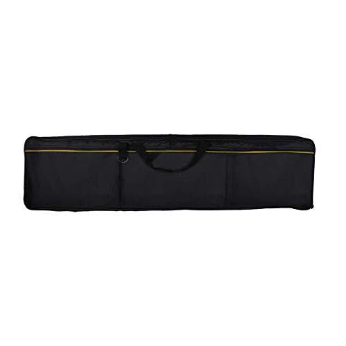 Chowcencen 88 Tasten Universal Keyboard Bag-Paket elektronische Klavier-Tastatur Tasche Elektronischer Fall wasserdicht elektronische Orgel Tasche Instrumentenhalterung