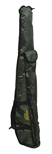 Carson - Fodero Mincio Porta Canne da Pesca con Tasca da 150 cm, Contiene 3-4 Canne Bolognesi o 6-7 Canne Fisse, Tasca Esterna Porta Picchetti e Accessori, Materiale 100% Polyestere, Colore Verde