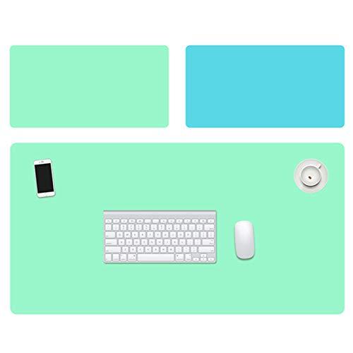 Canghai Alfombrilla de escritorio de doble cara, resistente al agua, protector de pantalla para computadora portátil, tapete de escritorio de doble uso para oficina/hogar (LG)