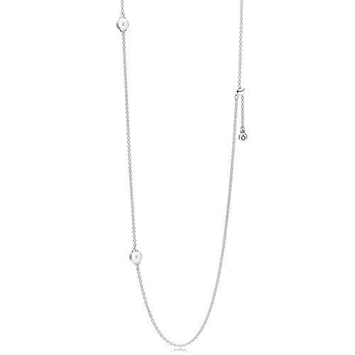 Pandora Damen-Kette ohne Anhänger 925_Sterling_Silber 590539WCP-80