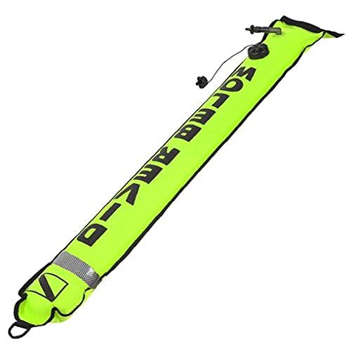 Bojen Sicherheit Tauchen Boje Marker Tauchausrüstung Zubehör Tauch Sicherheits-Gang Grün Tauchen Schutzkleidung