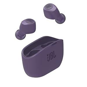 """JBL WAVE100 TWS 完全ワイヤレスイヤホン Bluetooth/USBタイプC/パープル JBLW100TWSPUR 【国内正規品/メー..."""""""