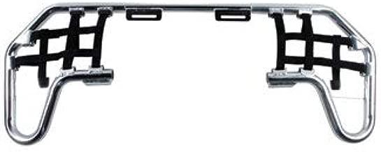 TUSK Comp Series Nerf Bars Silver with Black Webbing - Fits: Polaris Predator 500 2003-2007
