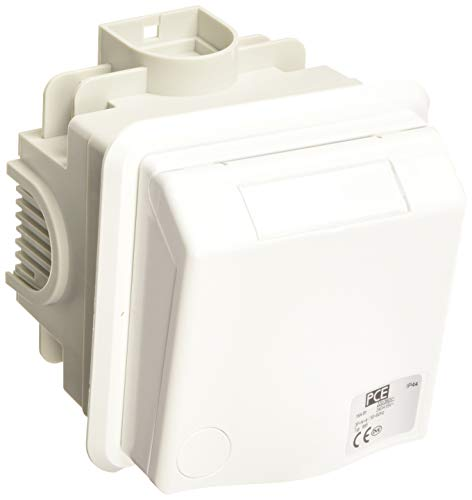 PC-Electric PCE8856 CEE 5x16 m.Dose IP44, UP-Steckdose IP488, 5 x 16 m