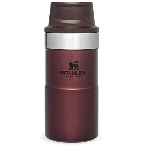 Save on Stanley Trigger Action Travel Mug 0.25L/8.5OZ Nightfall – Auslaufsicher - Thermobecher für Kaffee, Tee & Wasser - BPA-Frei - Edelstahl - Passt Unter Fast Jede Kaffeemaschine - Spülmaschinenfest and more