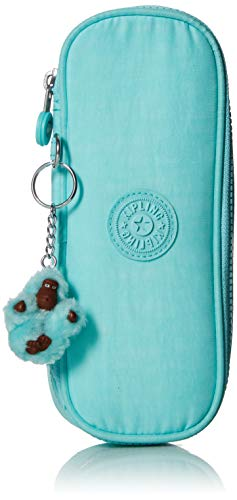 Kipling 30 Pens Pencil, Essential Everyday Case, Zip Closure, Fresh Teal Tonal, One Size