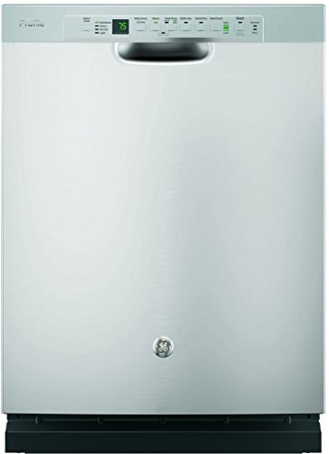 "GE PDF820SSJSS Profile 24"" Stainless Steel Full Console Dishwasher - Energy Star"