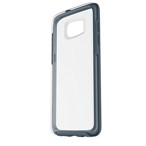 Otterbox Symmetry Clear - Funda para Samsung Galaxy S7 Edge, diseño Tempest Blue Cristal