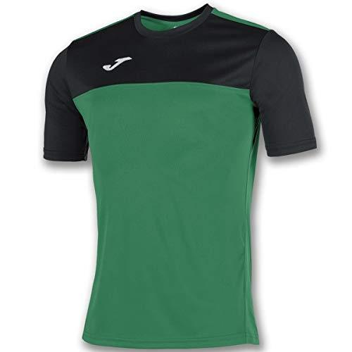 Joma Winner Camiseta de equipación, Hombres, Verde/Negro, M