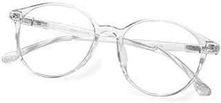 Fake Glasses Vintage Round Eyewear Frame Unisex Stylish Non-prescription Clear Lens Eyeglasses Fashion Glasses for Women Men