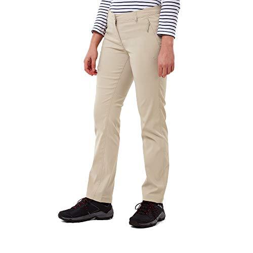 Craghoppers Kiwi PRO TRS Pantaloni da Escursionismo, Sabbia del Deserto, 30W/Regolare Donna