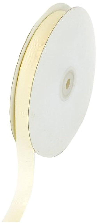 Creative Ideas 50-Yard Solid Grosgrain Ribbon, 5/8-Inch, Ivory