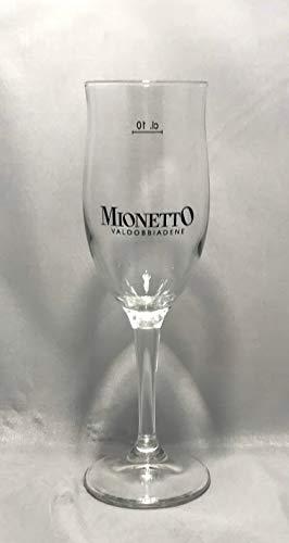 MIONETTO Valdobbiadene Gläser 10cl / Sekt Gläser/Prosecco Glas / 6er Set