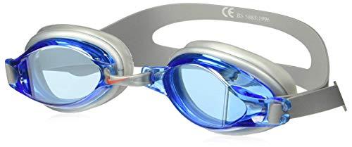 NIKE Unisex-Adult's Chrome Swim Goggle, Blue, One Size