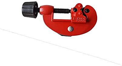 1//8-1-1//8 2 cuchillas Cortador de tubos de aluminio de PVC de alta resistencia Cortador de tubos de lat/ón Cortador de tubos de cobre Cortador de tubos de 3-30 mm