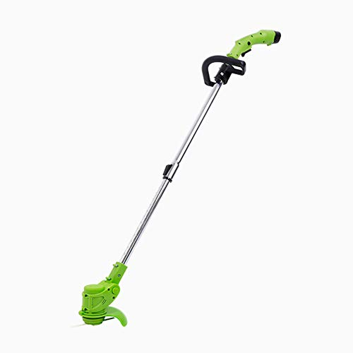 Fantastic Deal! Hfoobsa Telescopic Lightweight Cordless Strimmer 12V Rechargeable Lithium Battery Po...