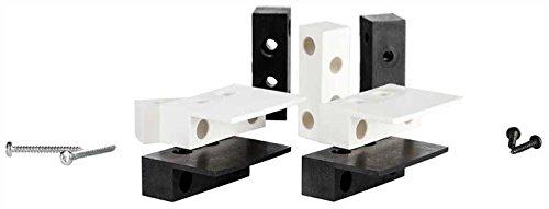 Thitronik Montageadapter schwarz (2 Paar)