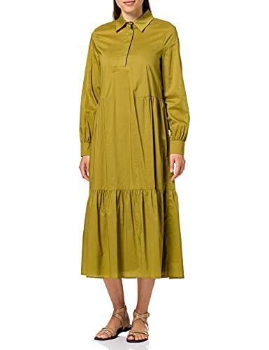 ESPRIT 041EO1E346 Vestito, 360/Olive, 38 Regular Donna